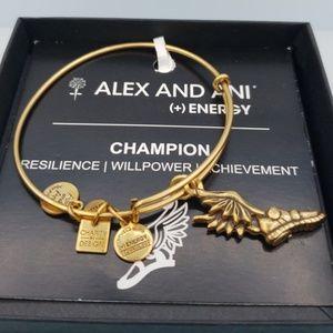 NWT Alex and Ani Charity Champion Bangle